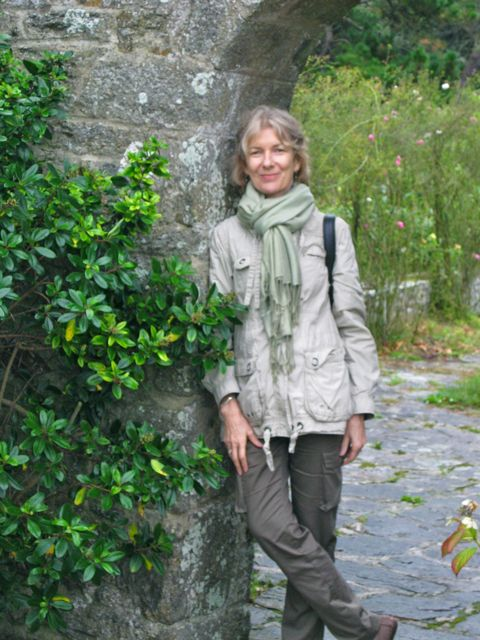 The author at Rozven, in Brittany